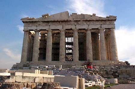 آشنایی با بنای آکروپلیس در یونان