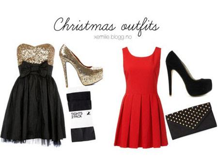 لباس مجلسی کریسمس, ست لباس مخصوص کریسمس