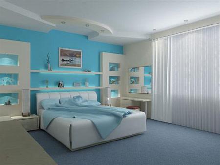 انتخاب رنگ برای اتاق خواب +تصاویر