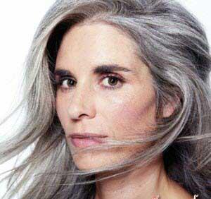 رنگ مو خاکستری, رنگ موی زنانه سال 2014