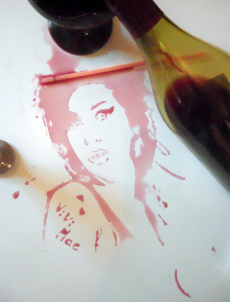 Spilled Portraits by Vivi Mac