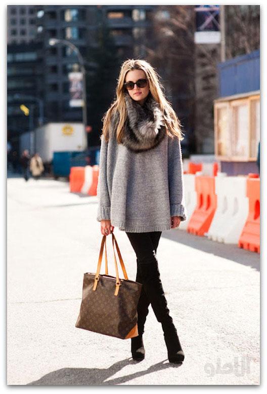 مدل لباس زمستانی دخترانه اروپایی