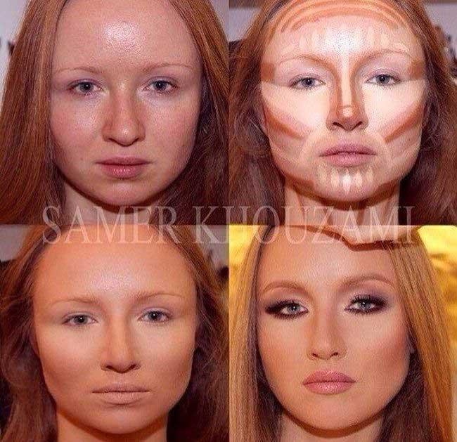 معجزه این آرایشگر در آرایش بانوان