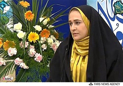 مجری معروف و همسرش در تلویزیون +عکس