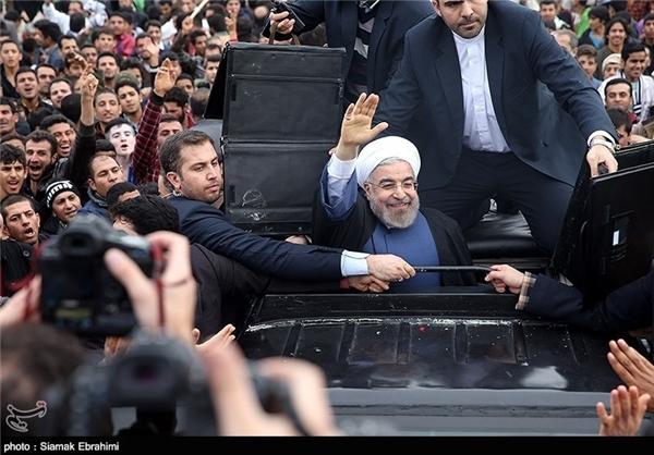 رئیس جمهور روحانی با مردم اهواز