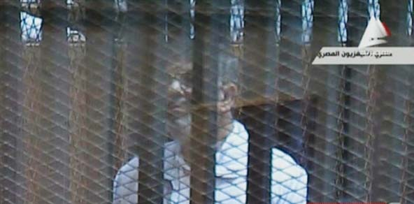 واکنش مرسی به درخواست حکم اعدام برای وی + ویدئو