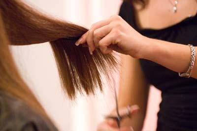 آموزش تصویری کوتاه کردن مو بلند