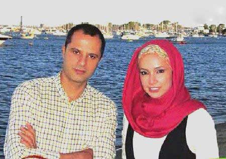 مصاحبه با شبنم قلی خان و همسرش +عکس
