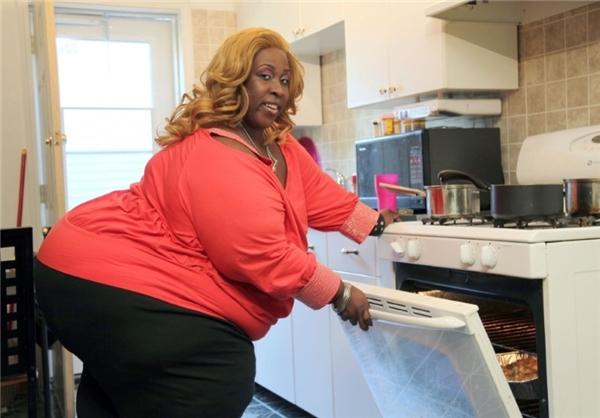 چاق ترین زن دنیا +عکس