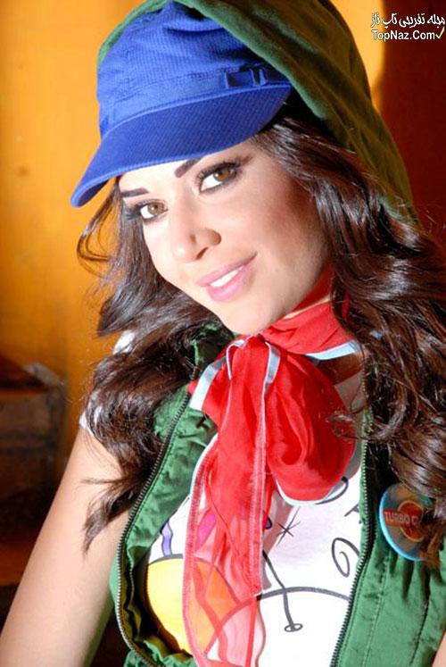 زیباترین زن لبنان