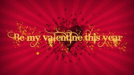 کارت پستال ولنتاین 2014 Valentine