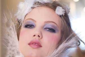 آموزش یک آرایش ساده مخصوص زمستان