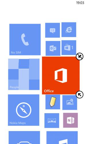 ویندوز فون ۸,گوشی هوشمند, گرفتن عکس از صفحه نمایش