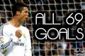 کلیپ دیدنی از 69 گل زده کریستیانو رونالدو در سال 2013