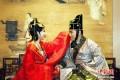 تصاویر جشن عروسی سنتی در کشور چین