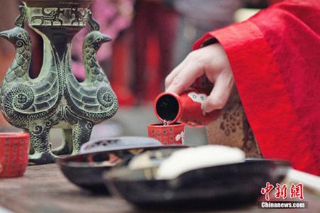 جشن عروسی سنتی در چین