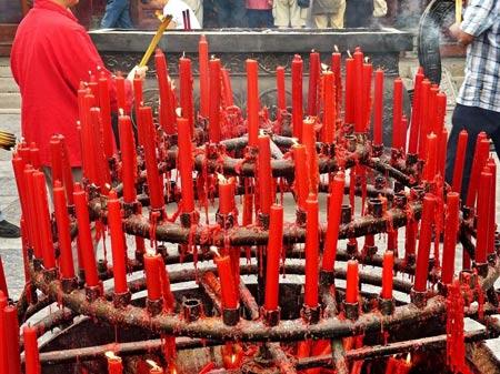 معبد برزگ غاز وحشی,معبد برزگ غاز وحشی در شی آن  چین,تصاویر معبد برزگ غاز وحشی در چین
