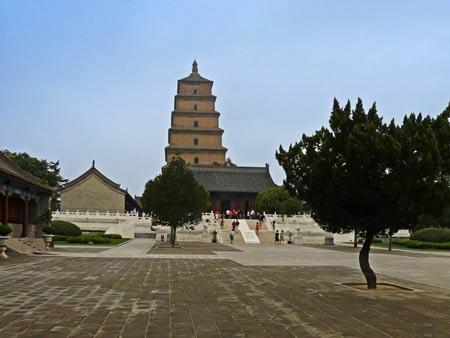 معبد برزگ غاز وحشی در چین