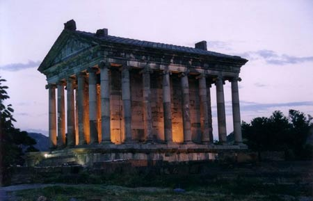 معبد گارنی,تصاویر معبد گارنی,معبد گارنی در ایروان