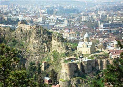 دیدنیهای تفلیس, تفلیس، پایتخت گرجستان