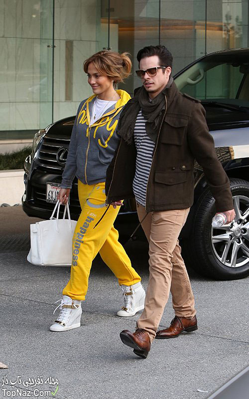 جنیفر لوپز و نامزدش, عکس جنیفر لوپز