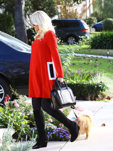 لباس بارداری جوئن استفانی,تصاویر جوئن استفانی