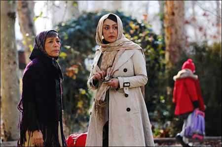 حضور شقایق فراهانی و پدر و مادرش در فیلم خانوم