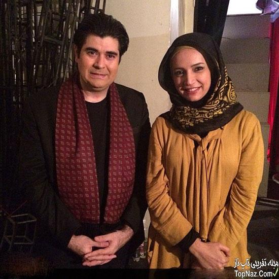 عکس شبنم قلی خانی در کنار سالار عقیلی