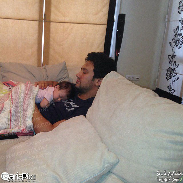 شاهرخ استخری و دخترش