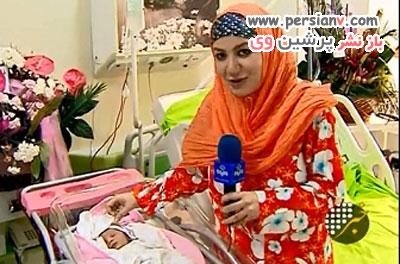 ملیکا زارعی و دختر, فرزند خاله شادونه