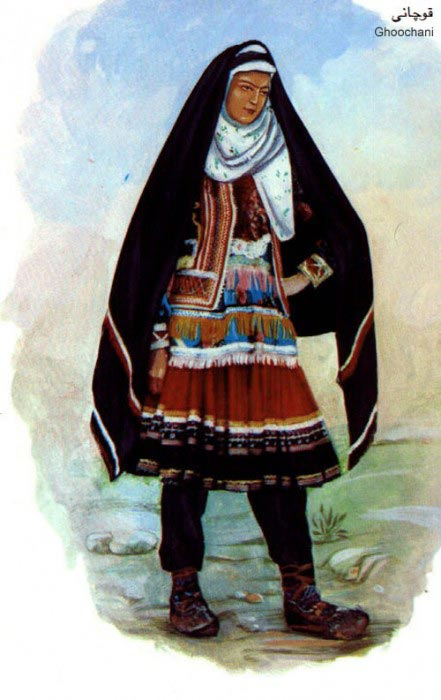 زنان ایرانی با لباس محلی