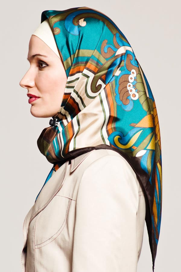 نحوه بستن روسری های مجری صدا سیما مدل های بستن شال و روسری در کشور های مخ.