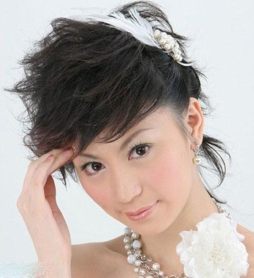 مدل مو کوتاه عروس ۲۰۱۴