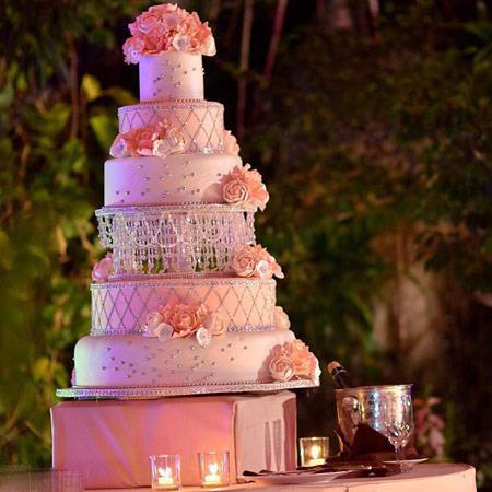 مدل کیک عقد