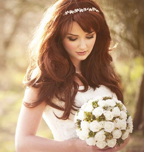 مدل آرایش موی سلبریتی ها در جشن عروسی