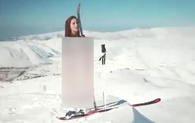 زن لخت لبنانی