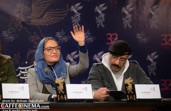 مهناز افشار در جشنواره فیلم فجر
