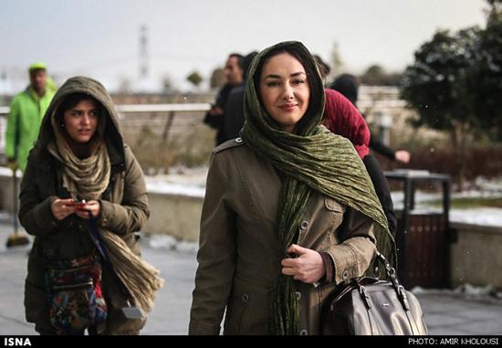هانیه توسلی در جشنواره فیلم فجر