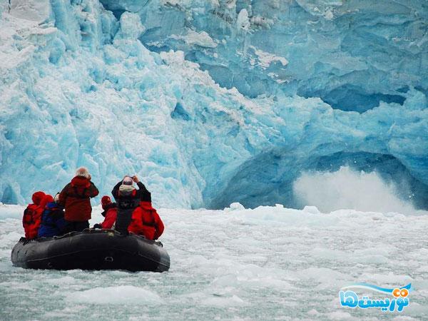 یخچالهای طبیعی اسوالبارد