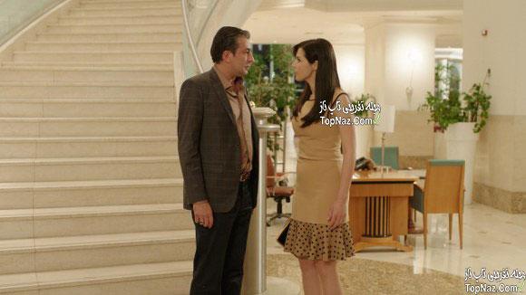 عکس رضا در سریال دیلا خانم
