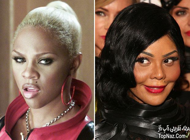 عکس لیل کیم قبل و بعد از عمل زیبایی بینی