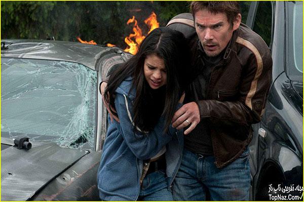 عکس های سلنا گومز در فیلم Getaway