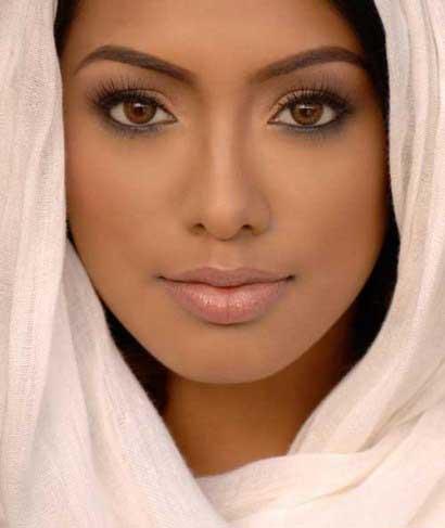 مدلهای آرایش,مدلهای آرایش برای پوست های تیره