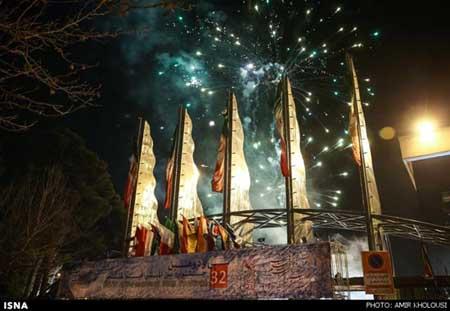 عکس: مراسم افتتاحیه جشنواره فیلم فجر
