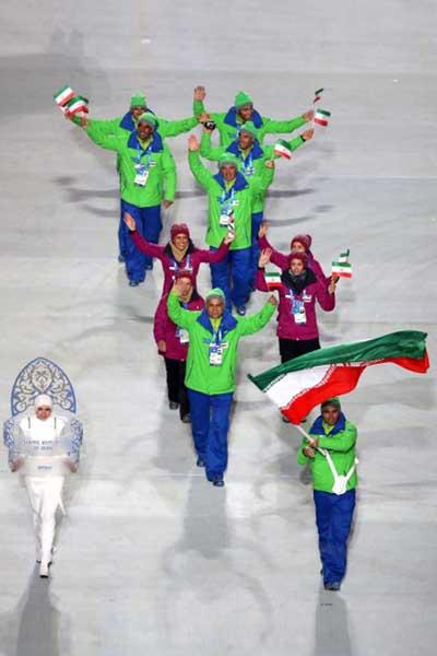 اخبار,اخبار ورزشی,افتتاحیه المپیک زمستانی,تصاویری از افتتاحیه المپیک زمستانی