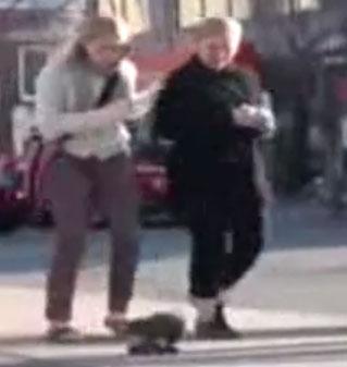 کلیپ خنده دار ترساندن دختران در خیابان