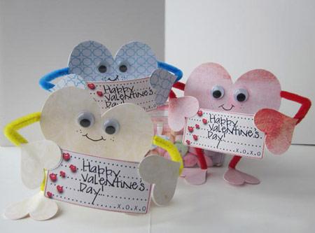 ساخت کارت تبریک قلبی روز ولنتاین