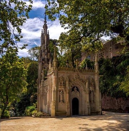 کاخ مجلل کوئینتا دا رگالریا در پرتغال