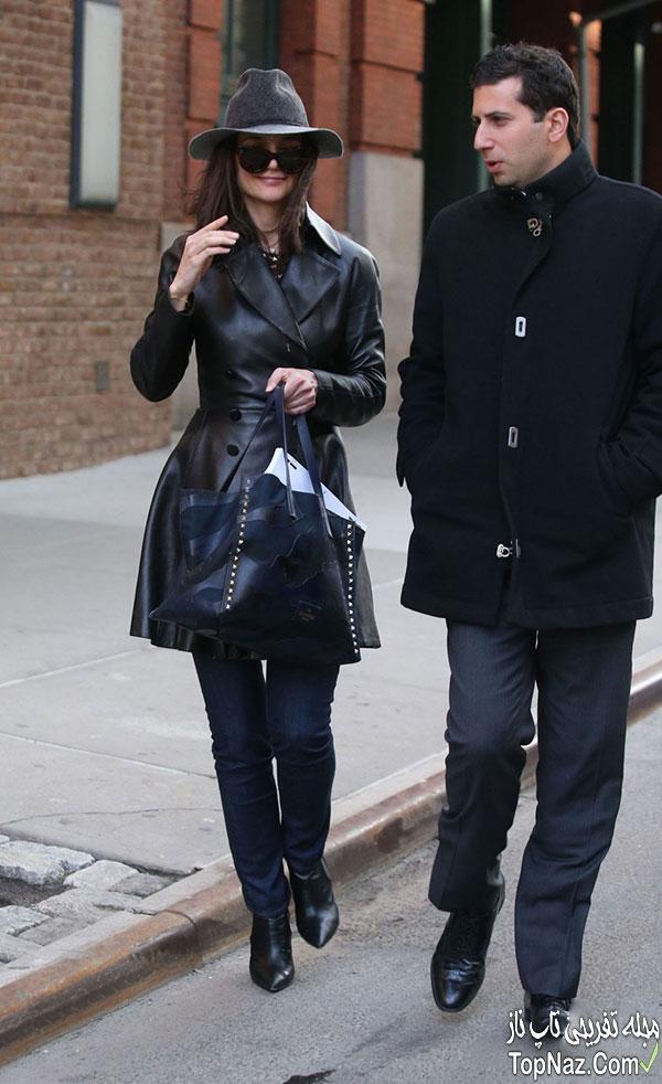 عکس های جدید کیتی هلمز در نیویورک