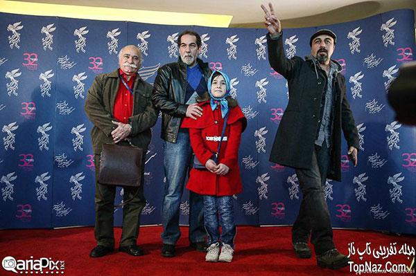 عکس بازیگران در نشست خبری فیلم کلاشینکف